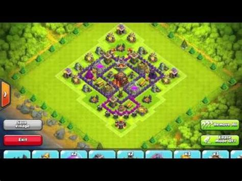 ultimate th6 layout ultimate th 6 defense base design video tutorial clash