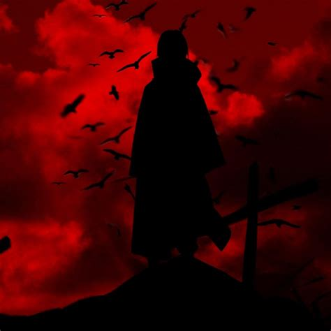 uchiha itachi crow wallpaper free desktop i hd images