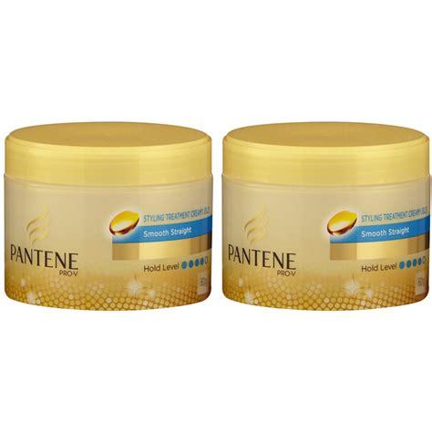 2x 60g pantene styling treatment smoothing