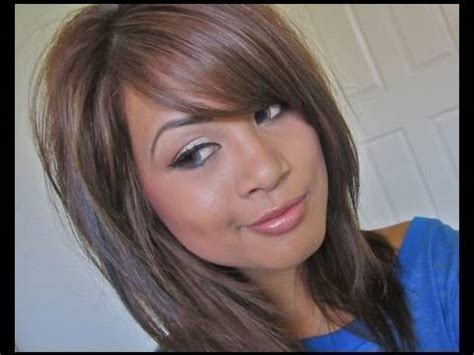 is there other ways of cutting a womens hair around the ears banged with a razor easy way to trim bangs youtube