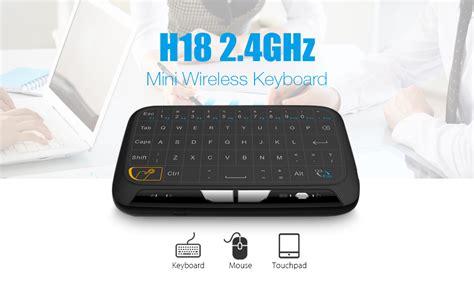 Wireless 2 4ghz Usb Mini Keyboard h18 2 4ghz mini wireless keyboard usb screen large