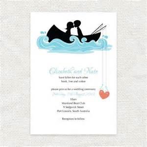 fishing wedding invitations hooked on you invitation printable file fishing row