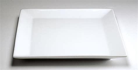 platos cuadrados de porcelana plato cuadrado 27 cm porcelana blanca