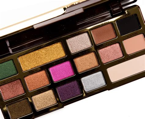 Faced Chocolate faced chocolate gold palette