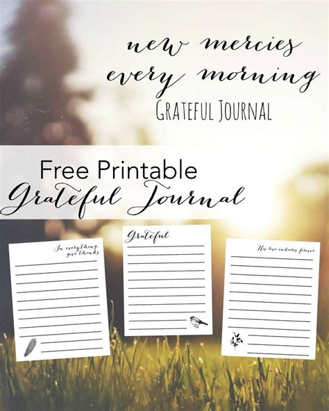 free printable gratitude journal 1000 ideas about gratitude journals on pinterest daily