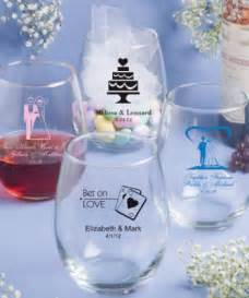 Wedding Favors Discount by 15 Ounce Stemless Wine Glasses