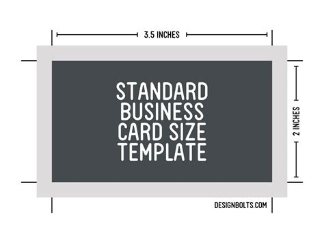 Standard Business Card Template free standard business card size letterhead envelop