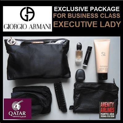 Harga Giorgio Armani Lotion amenity airlines on line shop amenity kits