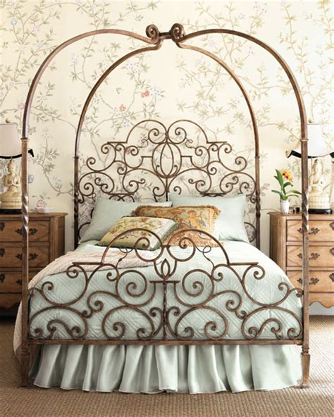 Wrought Iron Bed Frame Sweetwater Cottage Canopy Or Canape