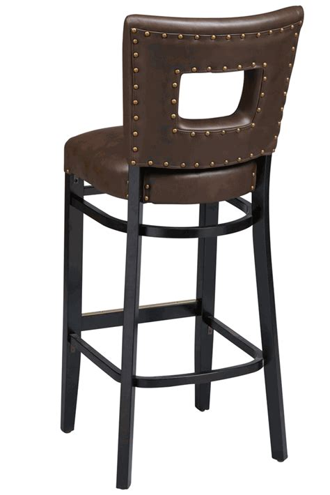 commercial wooden bar stools regal seating series 2426 wooden commercial bar stool