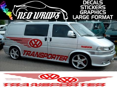 Aufkleber T5 Transporter by Vw T4 T5 Caddy Transporter Custom Car Graphics