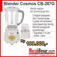 Blender Cosmos Cb 191 chopper cosmos fp 300 membuat es kopi penghalus bumbu kering dan basah membuat es krim