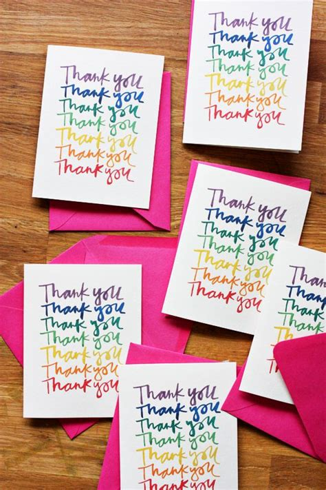 printable rainbow thank you cards rainbow thank you cards download a free printable