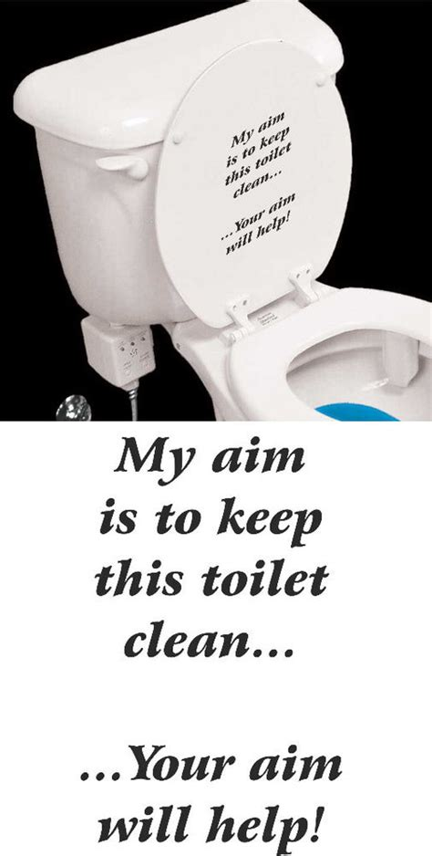 how to keep bathtub clean my aim is to keep toilet clean sticker bathroom funny ebay