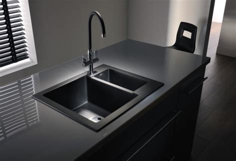 Modern Minimalist Black Kitchen Sink Kitchenidease Com Modern Kitchen Sink Design