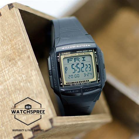 jual jam tangan casio db 36 9adf data bank original pranwatchshop