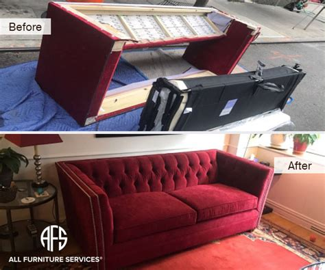 Disassemble Sofa For Moving by Gallery Before After Pictures All Furniture Services 174