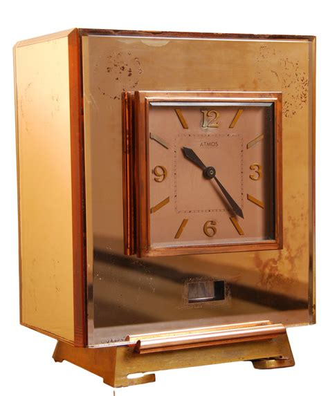 Cabinet Number by M194 Atmos Clock With Colored Mirrors Cabinet Number 6866