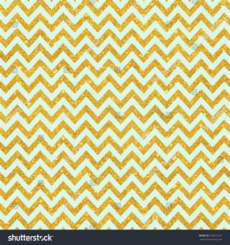 zig zag glitter wallpaper digital paper scrapbook mint gold glitter stock photo