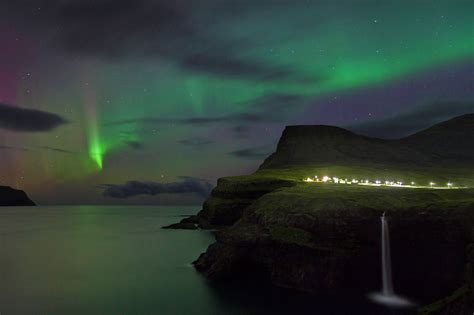 faroe islands northern lights the best places to see the northern lights around the