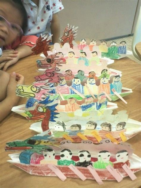 dragon boat festival crafts dragon boat for tuen ng festival crafts for kids