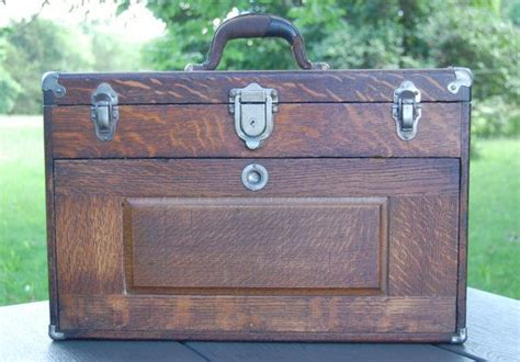Union Drawers by Vintage Union Oak Machinist 7 Drawer Tool Chest Tools