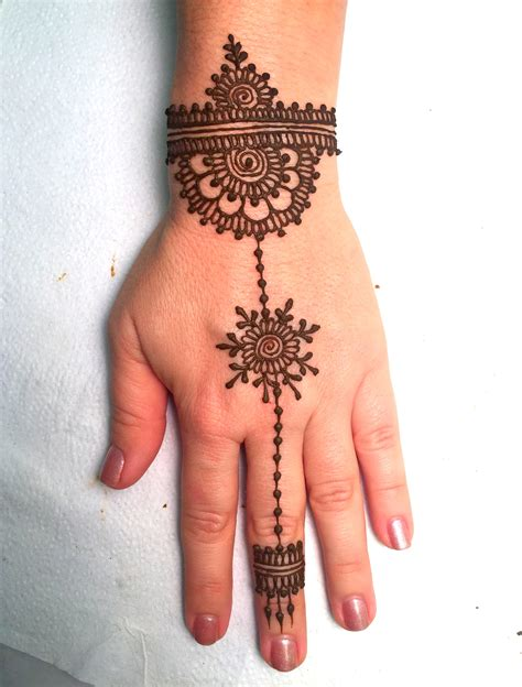 best jewelry style henna design for beginners mehndi