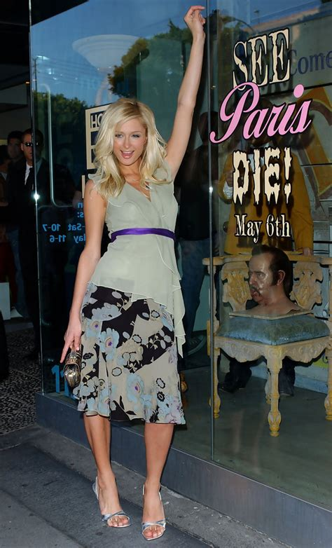 house of hilton paris hilton in house of wax party zimbio