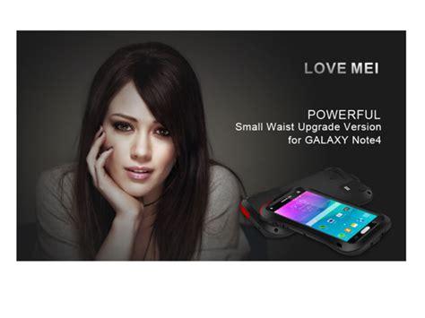 Samsung Galaxy Note 4 Mei Powerful Small Waist Casing Cover mei samsung galaxy note 4 powerful small waist