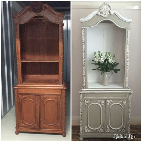 painted china cabinet before and after image result for before after chalk painted china cabinet