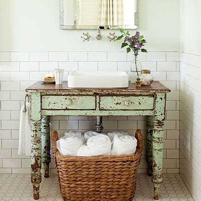 Bathroom Vanity Desk by To Da Loos Wood Tables As Bathroom Vanities