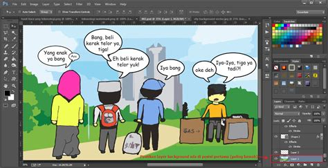 cara membuat brosur sederhana dengan photoshop contoh desain grafis menggunakan photoshop virallah
