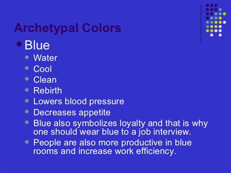 color psychology blue the psychology of color
