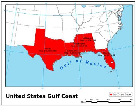 map of gulf coast states capital project construction forecasts us gulf coast