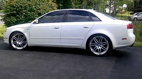 audi a4 b7 19 inch wheels rs4 19 on an audi a4 b7