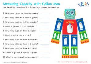 meta title measuring capacity worksheet free math