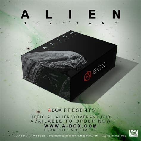 alien covenant ultimate alien fan gift set alien covenant a box now available for pre order avpgalaxy