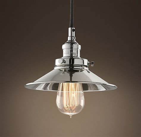 restoration hardware metal filament 7 189 pendant polished