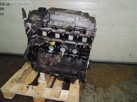 Engine Der Rsc Pajero mitsubishi pajero 3 2 di d diesel motor 4m41 dn1980 engine ebay