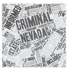 Nevada Criminal Records Records Vector Images 36 000 Vectorstock
