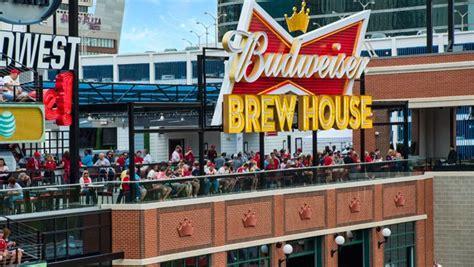 budweiser brew house budweiser brew house dine at ballpark village st louis