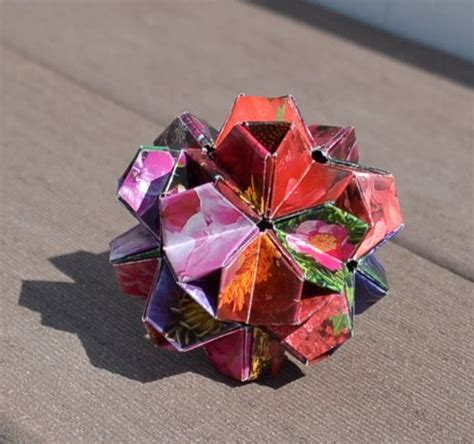 Recycled Origami Paper - 50 extraordinary beautiful diy paper decoration ideas