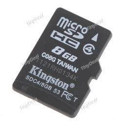Micro Sd Microsd Transflash V 8gb kingston 8gb tf transflash micro sd akstf08g