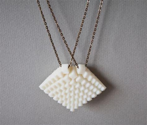 design milk jewelry 3d printed jewelry by hot pop factory design milk