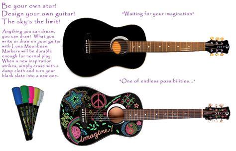 design guitar online luna aurora petite imagine mini acoustic blank slate
