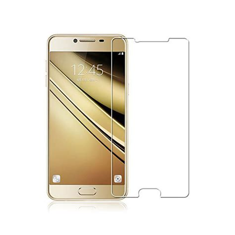 Tempered Glass Samsung Screen Protector 02mm For Samsung Galaxy 2 tempered glass samsung galaxy c7 screen protector سایمان دیجیتال