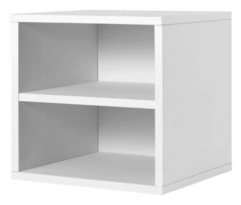 foremost 327301 modular shelf cube storage system white