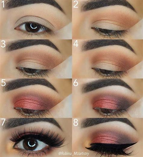 10 Steps For Makeup Look by 21 Easy Step By Step Makeup Tutorials From Instagram