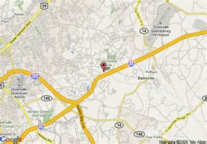 map of hton inn greenville i 85 at pelham greenville
