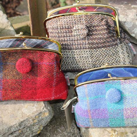 Handmade Scottish Gifts - harris tweed harris tweed gifts purses harris tweed